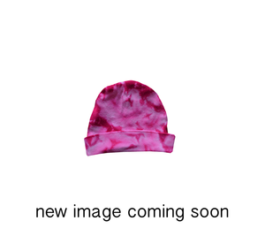 KC-PIHH // Infant-Toddler Pink Heart Tie Dye Hat