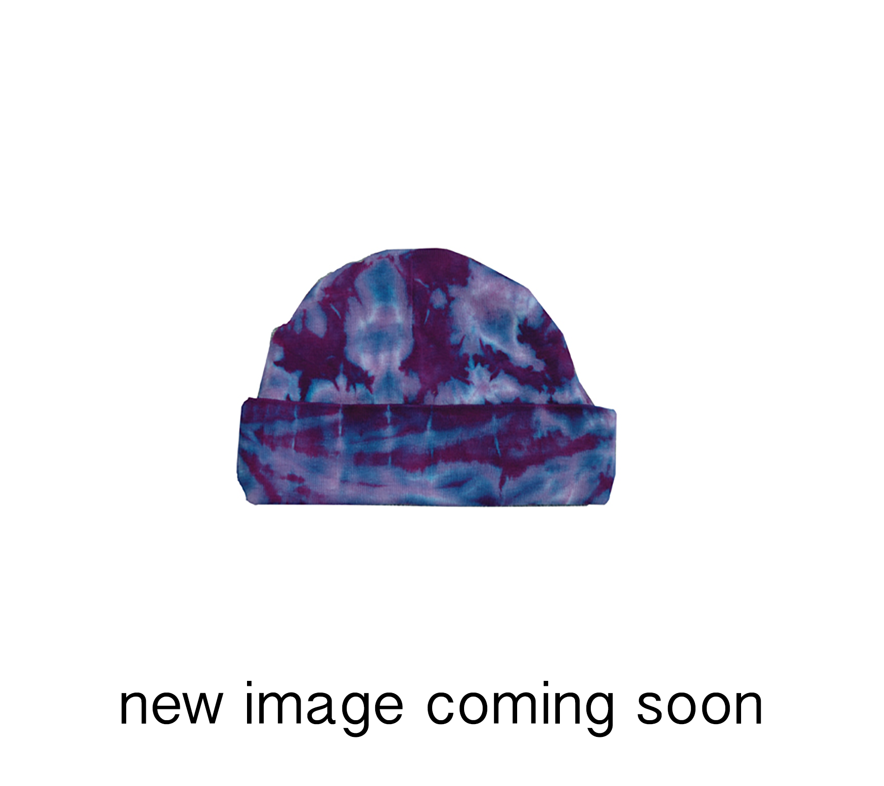 KC-PR // Infant-Toddler Purple Heart Tie Dye Hat