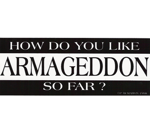 P-AR // How Do You Like Armageddon