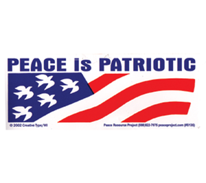S-135 // Peace Is Patriotic