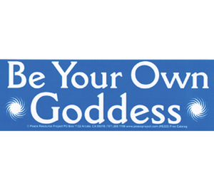 S-333 // Be Your Own Goddess