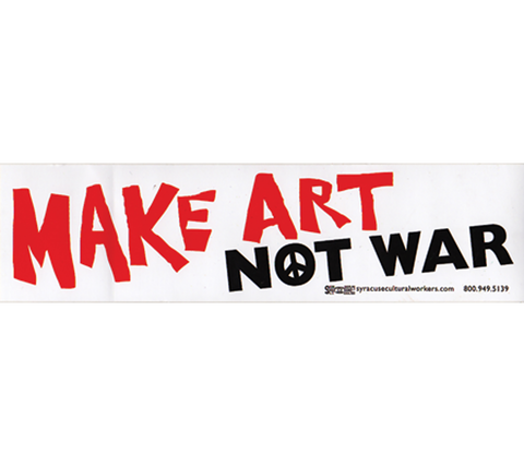 S-491 // Make Art Not War