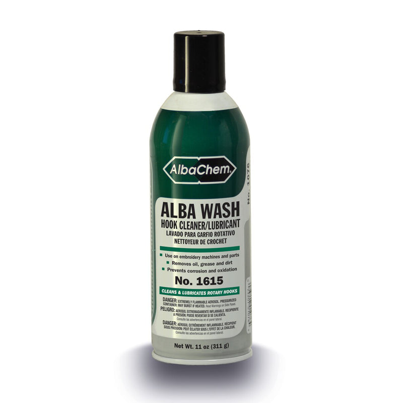 AlbaChem 1615 Alba Wash Hook Cleaner Lubricant