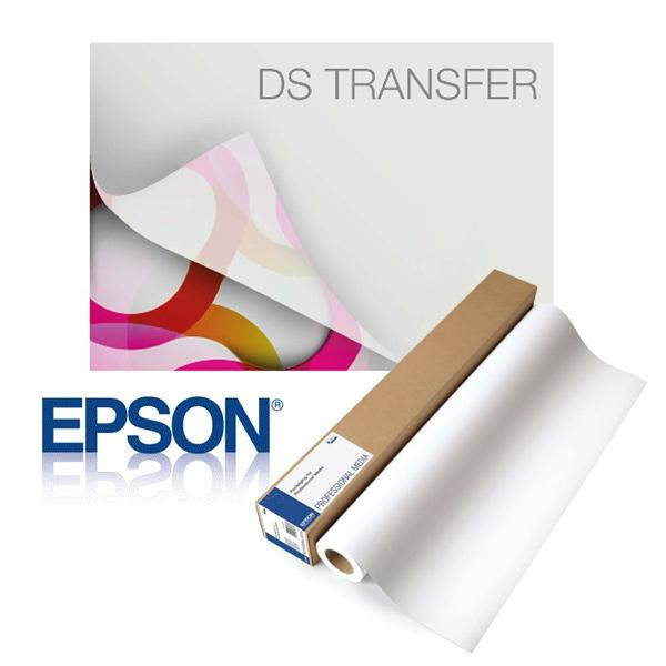 Epson Dye Sublimation Transfer Production Paper, 63GSM, 650FT Roll