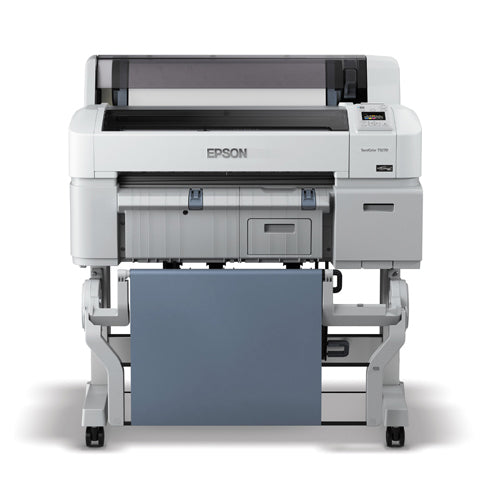 "Epson SureColor T3270 Printer, Single Roll 24"" Front View"