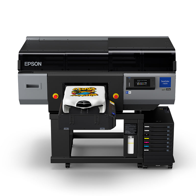 Epson SureColor F3070 Industrial Direct to Garment Printer - Main - Front View
