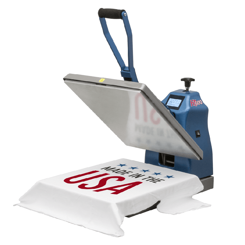 "HIX HT-600 Digital Clamshell Heat Press Machine 16"" x 20″"