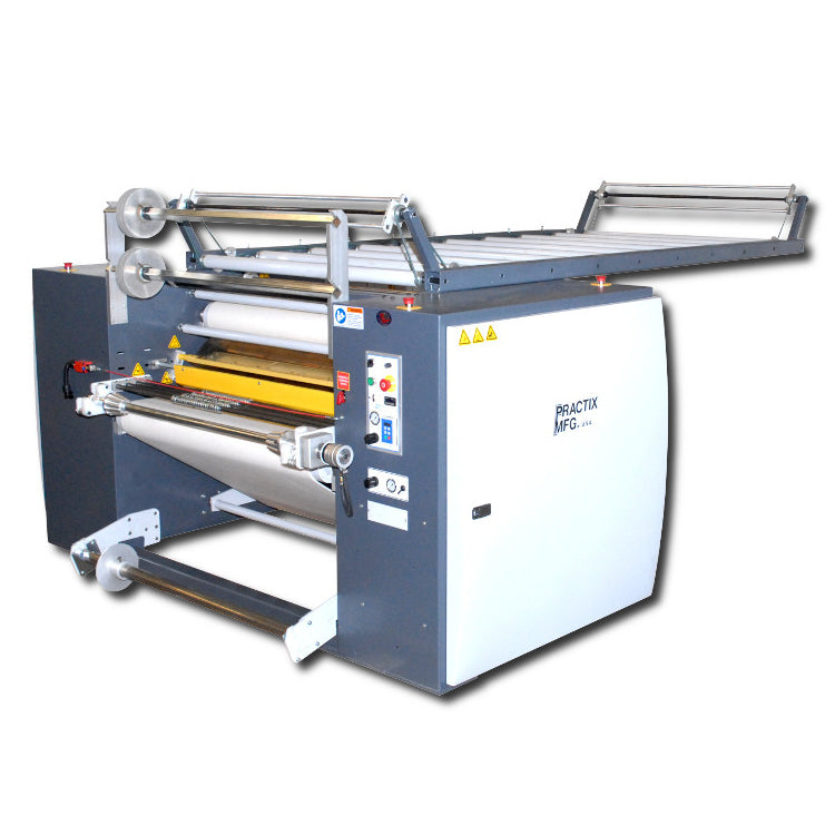 "24"" Practix OK-405RTR Narrow Web Continuous Belt Rotary Sublimation Transfer Press"