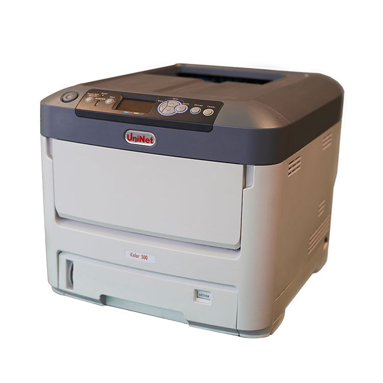 Discontinued Uninet iColor 500 White Toner Laser Printer Front View