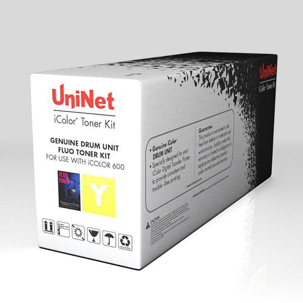 Uninet iColor 500 Yellow Security Toner and Drum Cartridge Kit
