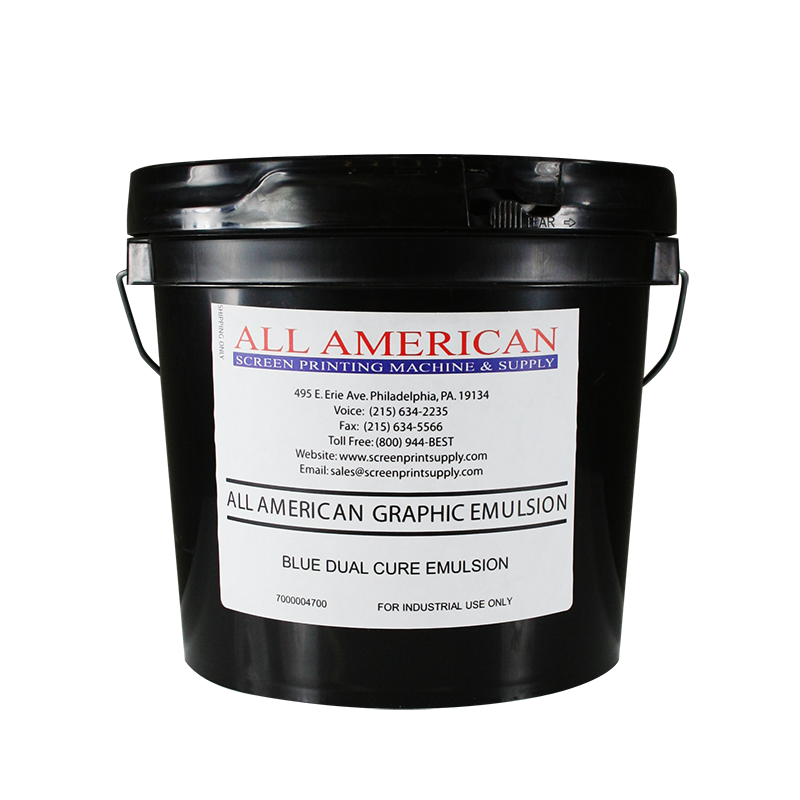 quart bucket of graphic emulsion for screen printing
