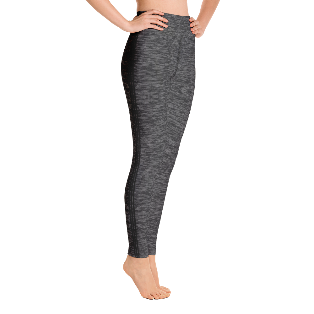 Racing Stripe Yoga Leggings