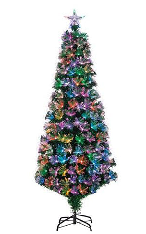 FIBER OPTIC COLOR CHANGING TREE