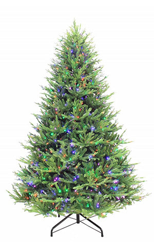 KENTUCKY FIR TREE MULTICOLORED LED
