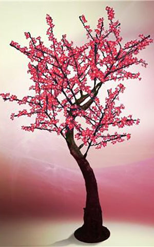 LED RED CHERRY BLOSSOM TREE