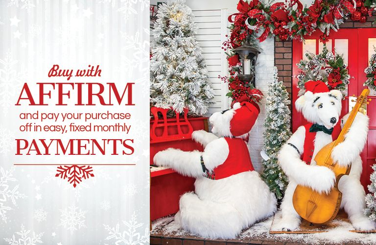 Buy with Affirm and pay your purchase off in easy, fixed monthly payments