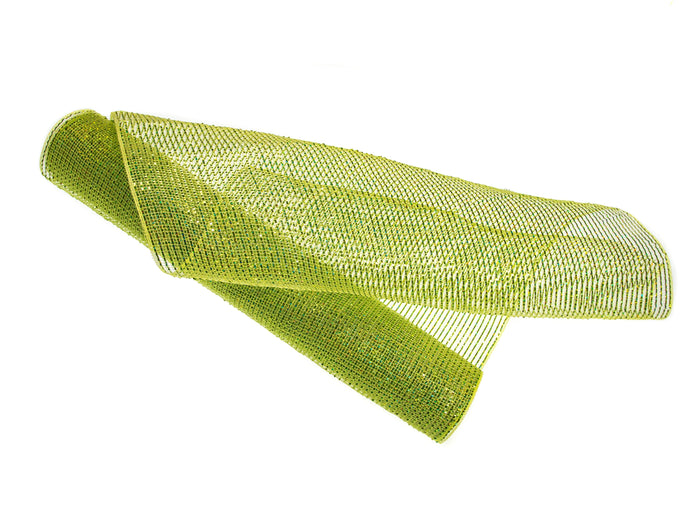 "20"" X 10YD APPLE GREEN MESH SET OF 3 ROLLS"