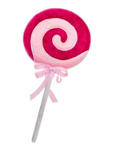 "19"" PINK & RED LOLLIPOP WITH BOW SET OF 2"