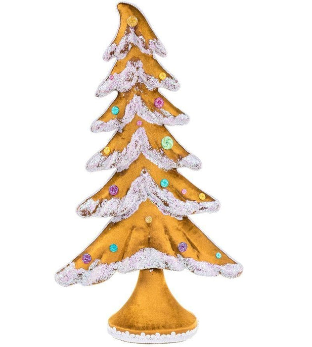"26"" BROWN FLOCKED TREE"