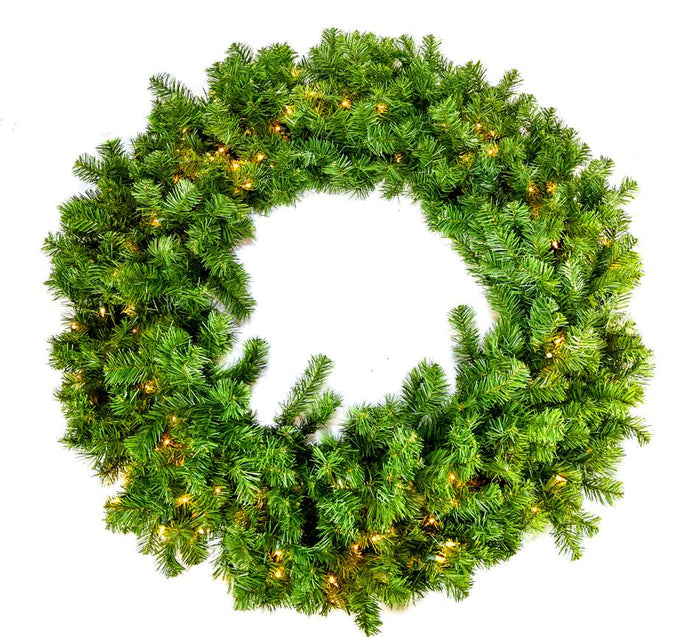 "72"" GLACIER WREATH 400 LIGHTS"