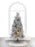5' CRYSTAL FLOCKED TREE LED