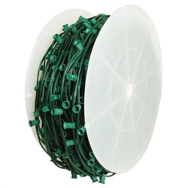C9 1000' ROLL GREEN WIRE 6""