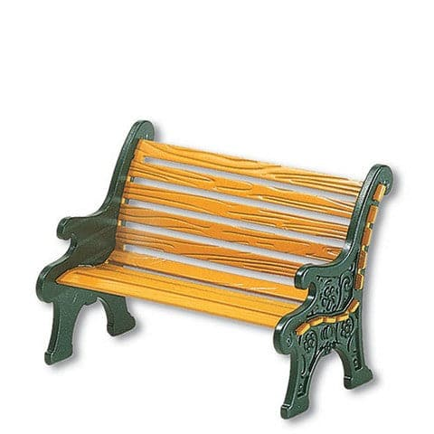 WROUGHT IRON PARK BENCH
