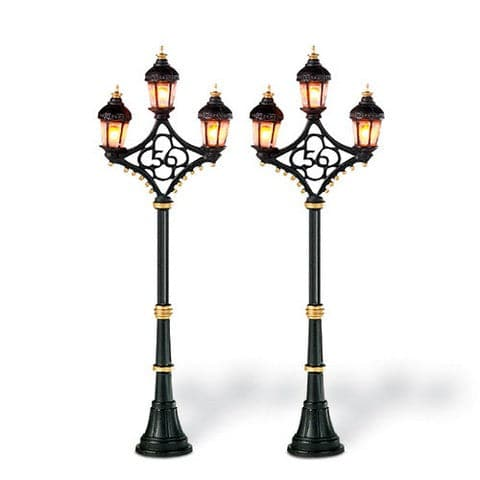 FIFTY SIX STREET LIGHTS SET OF 2