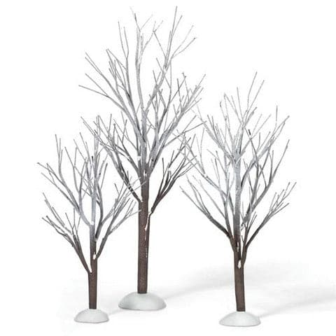 FIRST FROST TREES SET OF 3