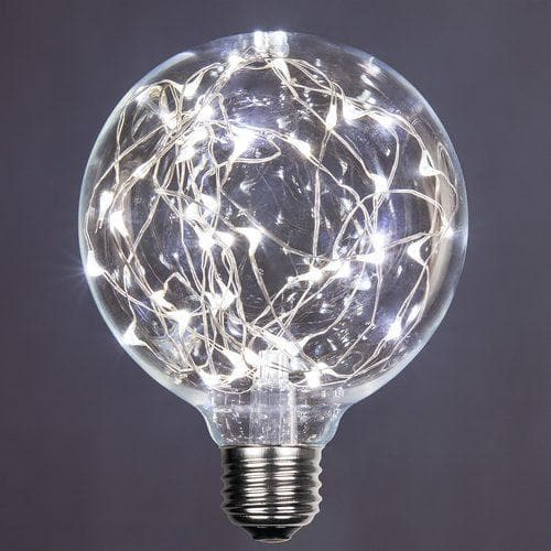 G95 COOL WHITE LED FAIRY BULB
