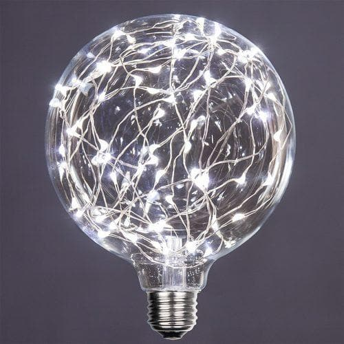 G125 COOL WHITE  FAIRY LIGHT BULB
