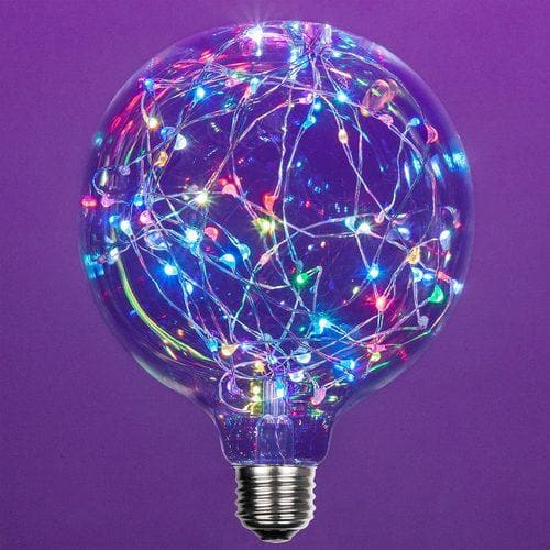 G125 COLOR CHANGE RGB FAIRY LIGHT  BULB