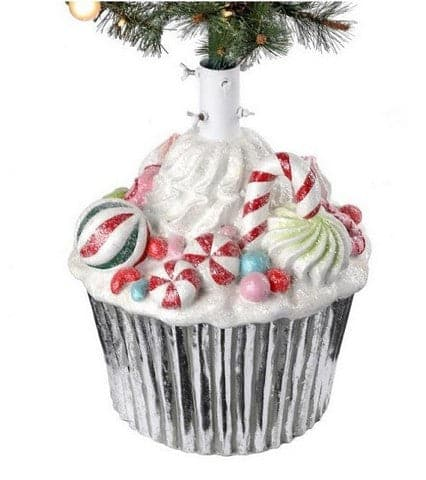 "21""  CUPCAKE WITH CANDY TREE STAND"