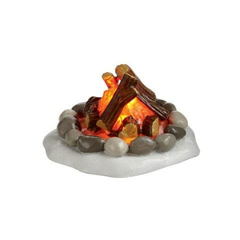 LIGHTED FIRE PIT