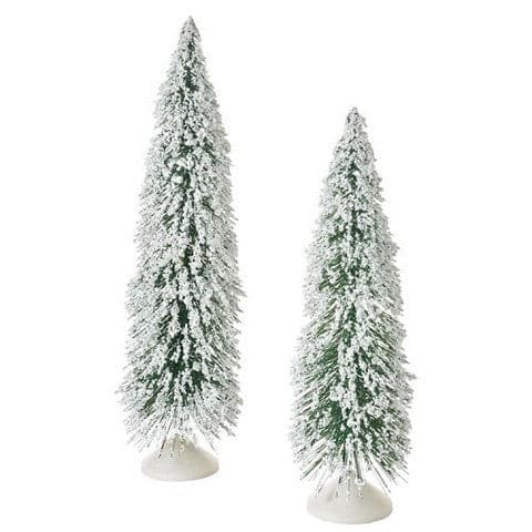 FROSTED PINE GROVE SET/6