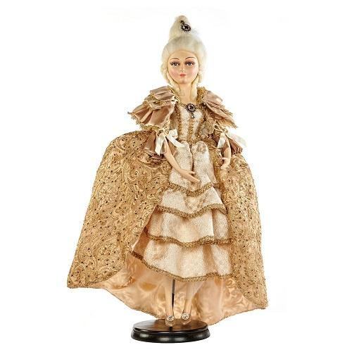 "30"" MARIE ANTOINETTE DOLL WITH STAND"