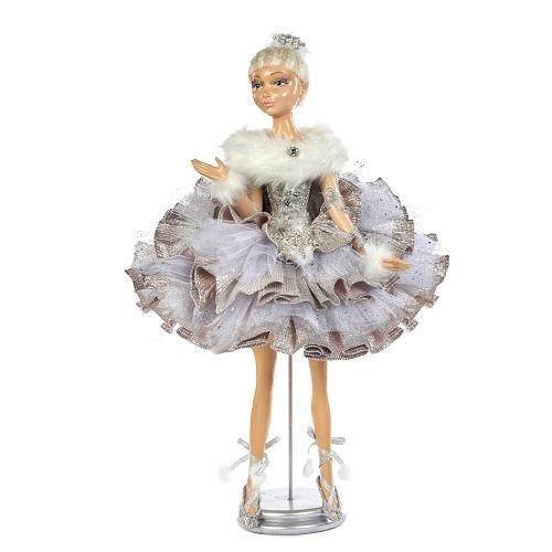 "26""  BALLERINA DOLL WITH STAND"