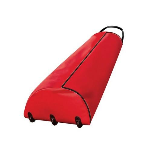 9' RED PREMIUM ROLLING TREE BAG