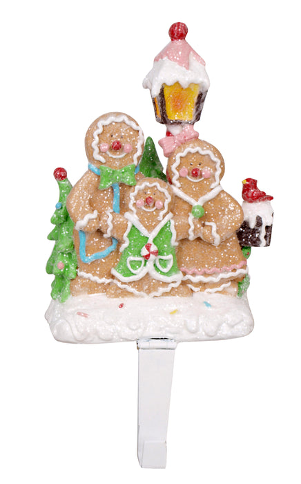 "9"" GINGERBREAD STOCKING HOLDER"