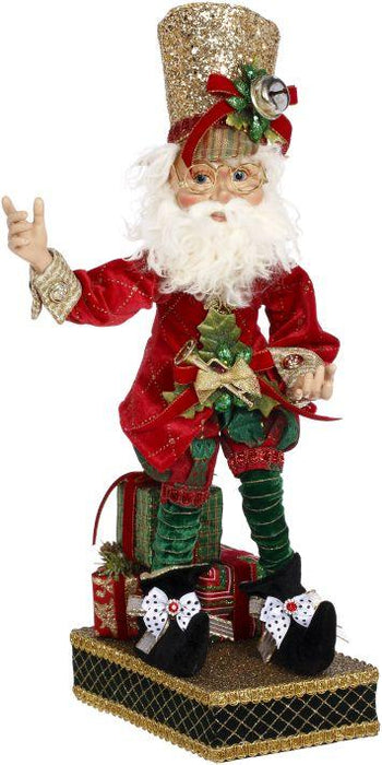 "19"" MARK ROBERTS NORTH POLE  MUSICIAN ELF STOCKING HOLDER"