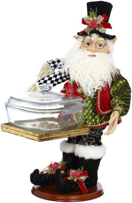 "20""  MARK ROBERTS ELF WITH BOWL"