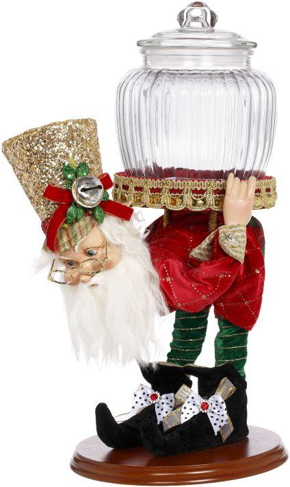 "16"" MARK ROBERTS MUSICIAN ELF WITH JAR"