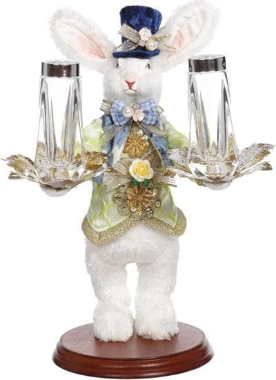 "11"" RABBIT WITH SALT AND PEPPER SHAKER"