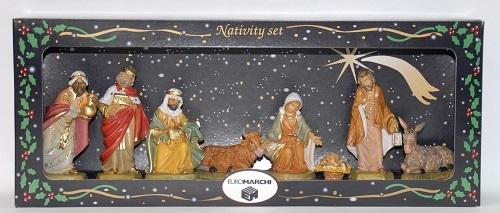 "4.75"" NATIVITY SET 8PC"