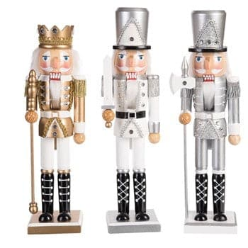 "15"" SHINY NUTCRACKER SET OF 3"