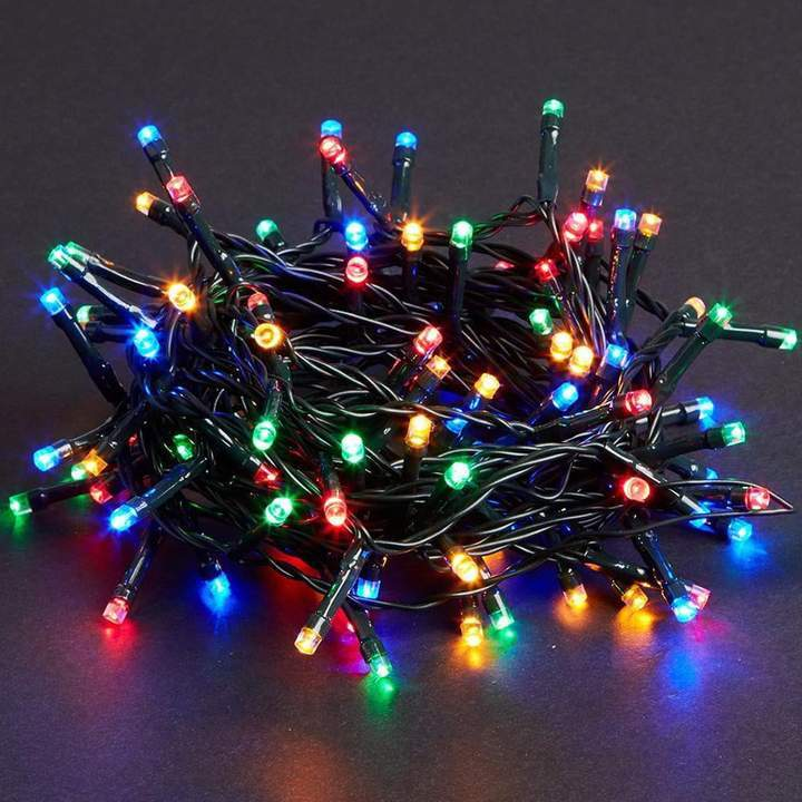 36 FT COMPACT STARTER SET MULTI WITH 1 STRING OF 500 LED LIGHTS WITH TRANSFORMER