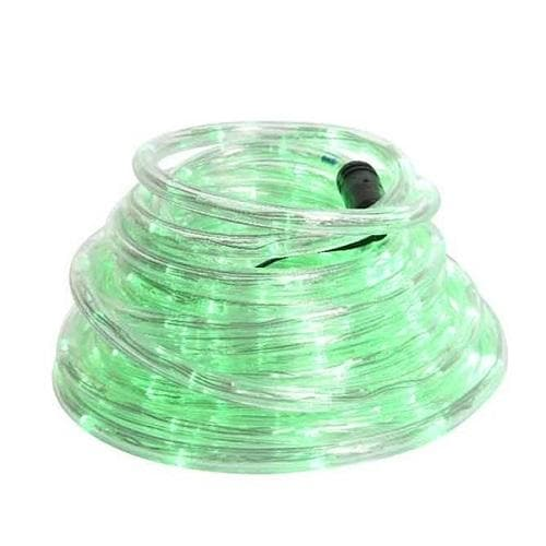 200 LED GREEN  ROPE LIGHTS WITH 8 FUNCTION TWINKLE