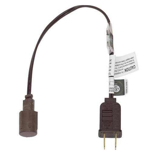 BROWN COAXIAL RECTIFIED PLUG FOR COAXIAL SET