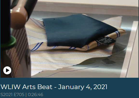 Feature on Long Island's PBS station WLIW Arts Beat