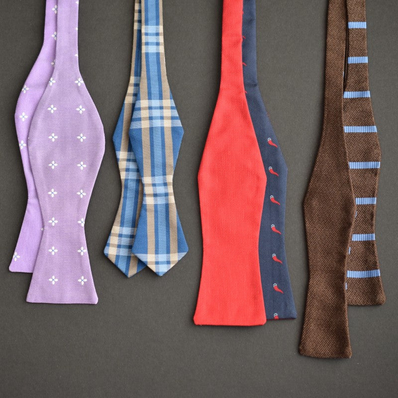 Popular Bow Tie Styles